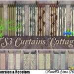 "TS3 to TS4 Conversion – Curtains ""Cottage"""