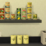 Simista A little sims 4 blog : Canned Food