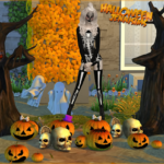 Jennisims: Downloads sims 4::Collection Happy Halloween!! (Decoratives,Chair,10 items)