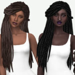 MISSPARAPLY | [TS4] HALLOWSIMS STORM / LOCS & JUMBO BOX BRAIDS:…