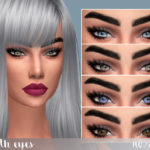 Kenzar Sims Synth Eyes