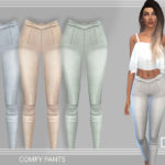 Puresim TSR // – COMFY PANTS – A comfy pants for a casual look. 4…
