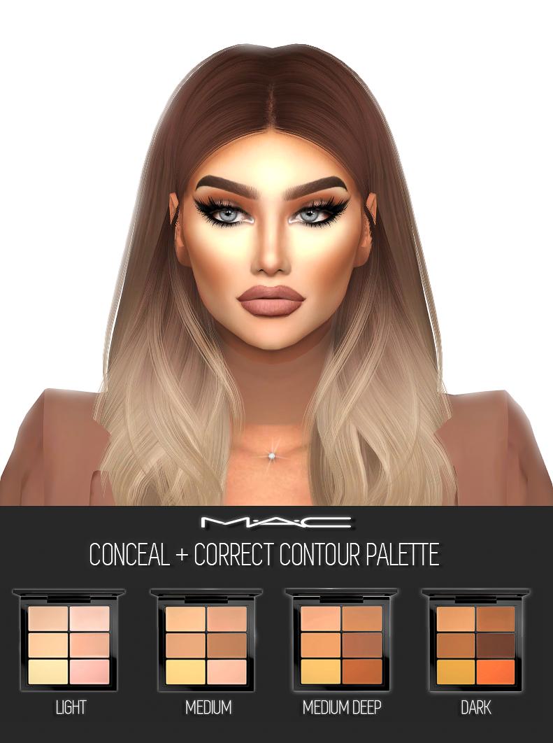 Conceal + Correct (Contour Palette) By MAC Model