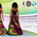 TheAfricanSim's West African Wedding Dress (BGC)… | The African Sim