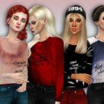 Simlark's 'Lana' Sweatshirts – mesh needed
