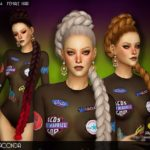 JAKEASims' JAKEA – H008 – ANACONDA (Female Hair)