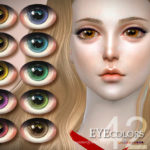 S-Club LL thesims4 Eyecolor 42