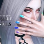 Pralinesims' Ombre Nails N16