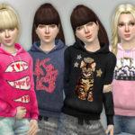lillka's Hoodie for Girls P05