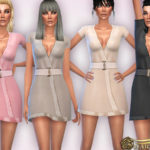 Harmonia's Pure-Silk Short Night Robe Dress