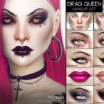 Pralinesims' Drag Queen Makeup Set