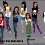 Hoppel785`s Sims 4 Collection For Kids Set1 by Hoppel785