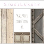 Wallpaper collection #8 – Sims4Luxury
