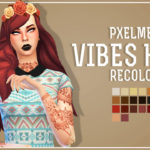 Pxelmei — Chocolatemuffintop: Vibes Hair Recolored You need…
