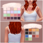 oh, you@sims4-marigold's sleeveless top // maxis match'd & recolored