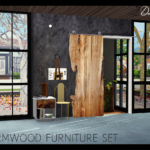 Wormwood Furniture Set (New meshes)