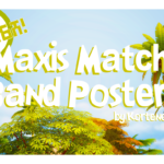 Kortenee | Maxis Match Band Posters! I did it! Finally! These…