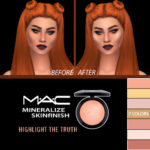 HallowSims MAC Mineralize SkinFinish Highlighter