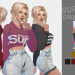 LYNXSIMZ — SUPERDRY CROP HOODIE Edit of EA mesh Base game…