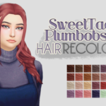 Just a simple simblr. – SweetTacoPlumbobs 18 Hair | by @sweettacoplumbobs…