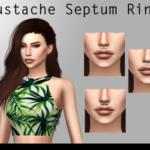 • Mary WhalterMustache Septum Ring