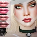 Pralinesims' Cream Color Lipstick N93