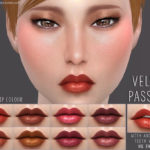 Screaming Mustard's [ Velvet Passion ] – Smooth Lip Colour