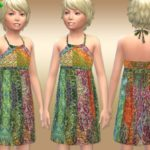 DragonQueen's Patchwork Peacock Dress – Girls – Get to Work needed