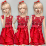 lillka's Red Holiday Party Dress