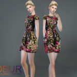 Bobur3's Bobur floral Princess dress