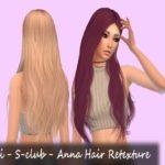 mikerashi's M-Shi – S-club – Anna Hair Retexture (Read Description)
