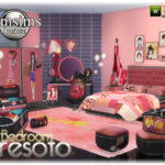 jomsims' Presoto bedroom girly