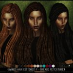 Blahberry Pancake – WINGS HAIR EITTO822 F – Dreads Retexture