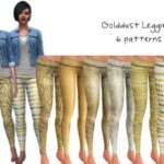 Starz's Golddust Leggings