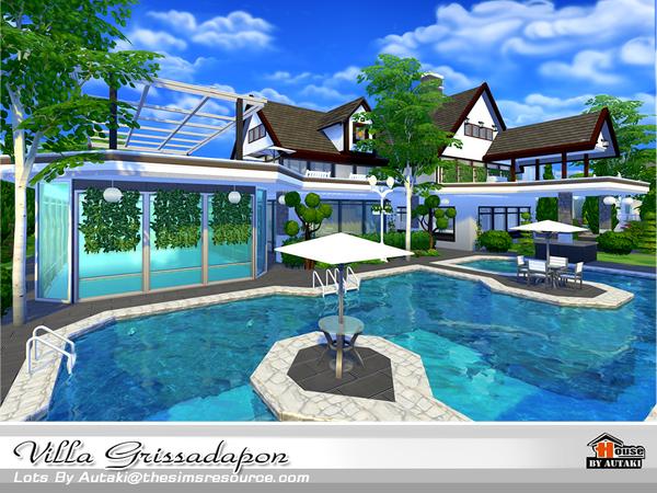 Autaki S Villa Grissadapon Sims 4 Updates Sims 4
