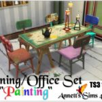"TS3 to TS4 Dining/Office Set ""Painting"""