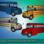 "Corporation ""SimsStroy"": The Sims 4. Car Bus. Conversion Bus School The Sims 3."