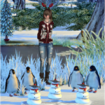 Jennisims: Downloads sims 4:Winter Fun Decoratives (Penguins,Xmas Snowman, )Vol4