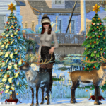 Jennisims: Downloads sims 4:Christmas Holiday (reindeer, Christmas Tree) Vol 3