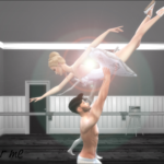 The Sims Lover Our Creations ballet posepack