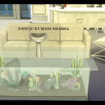 newluxurioussims4 — COFFEE TABLE AQUARIUM *functional