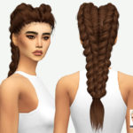 MISSPARAPLY | [TS4] LEAHLILLITH NIGHTRUNNER: SOLIDS Hair…