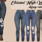 Lumy-Sims Chisami High Waist Jeans