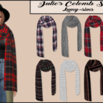 Lumy-Sims Julies Colomb Scarf