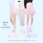 HikariiChaan ♡ | Sock's & Heels  YOU NEED THIS MESH Mesh by…
