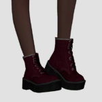 elliesimple | [Elliesimple] – Chunky Combat Boots Original…