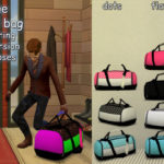 Clown Confetti's TS4 CC – A large duffel bag, just something I needed for my…