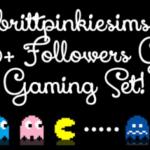 brittpinkiesims♥Gaming Set!