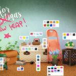 Tic Tac Toe CLUTTER FOR CHRISTMAS BY STEFIZZI