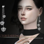 S-Club WM thesims4 sector earring